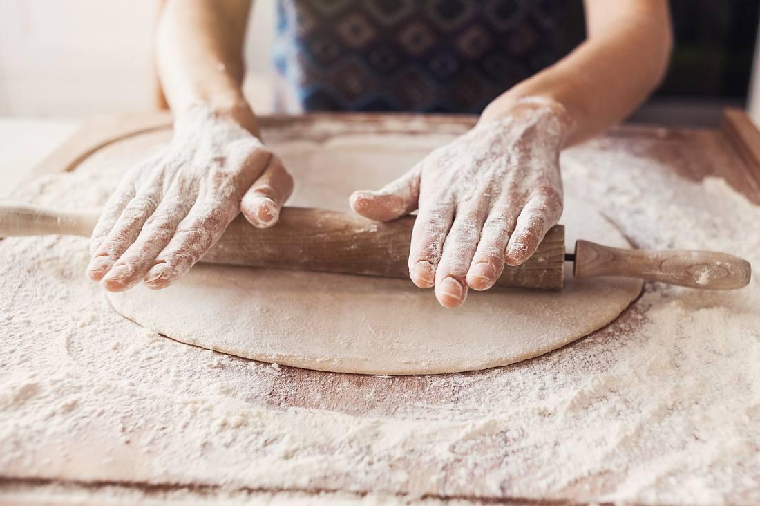 So geht original italienischer Pizzateig.