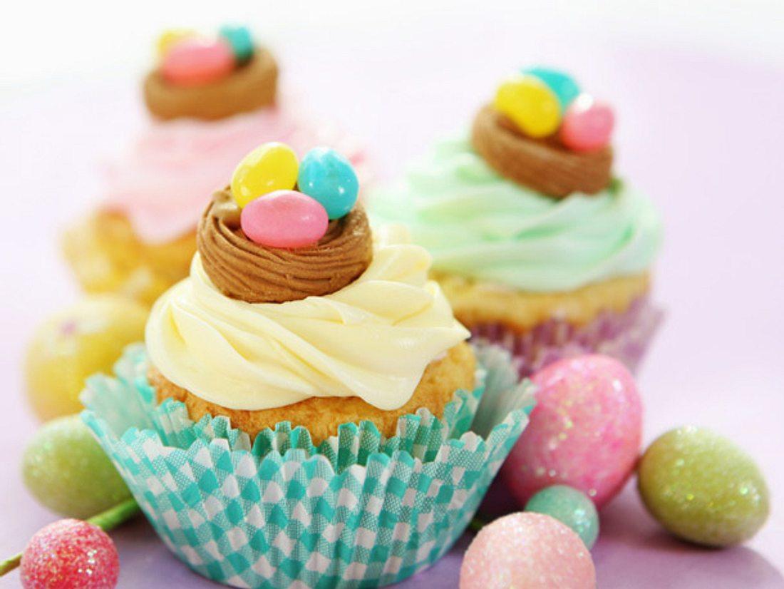 Leckeres Oster-Cupcakes-Rezept