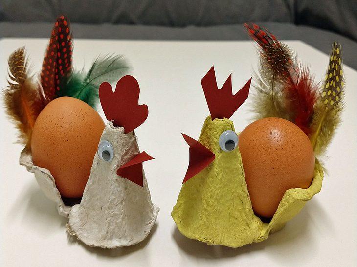 Osterdeko: Niedliche Eierbecher basteln| Liebenswert
