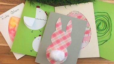 Osterkarten basteln - 5 einfache und niedliche Ideen - Foto: Liebenswert