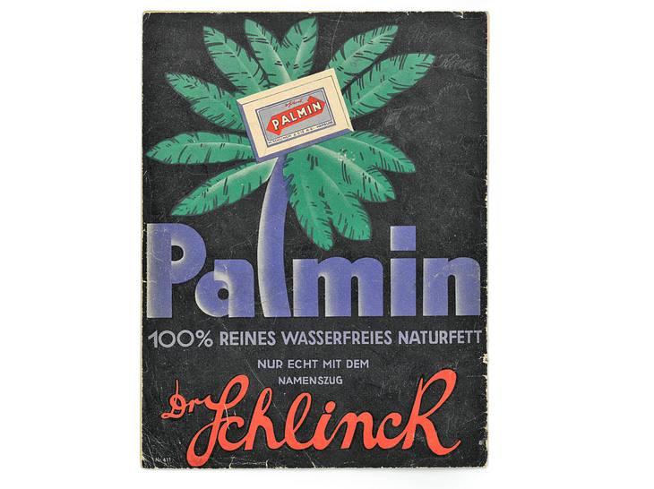 Werbeplakat Palmin