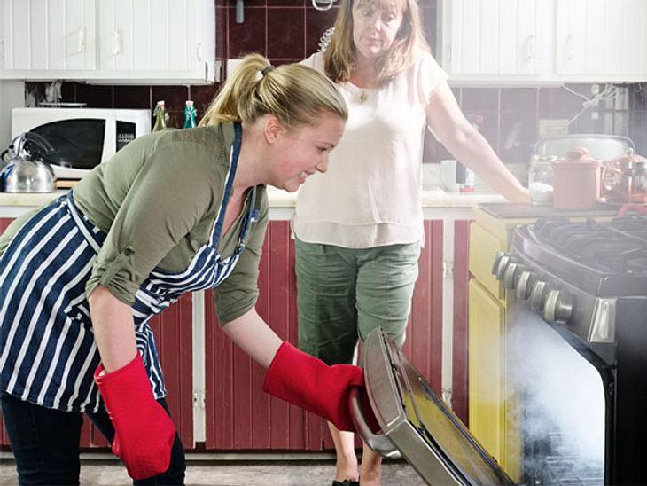 Diese Tipps helfen bei Pannen in der Küche.