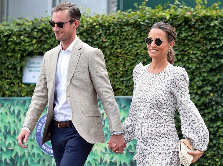 Pippa Middleton und ihr Mann James Matthews freuen sich auf ihr erstes Kind.