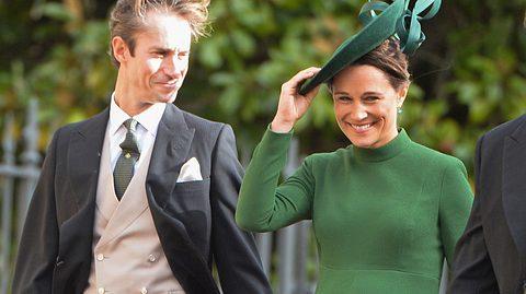 Pippa Middleton und ihr Mann James Matthews freuen sich über ihr erstes Kind. - Foto: Pool/Samir Hussein/WireImage/GettyImages