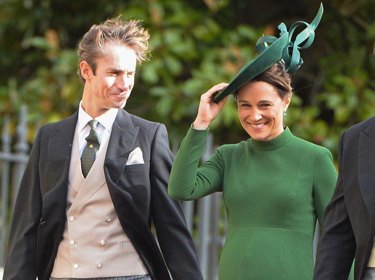 Pippa Middleton und ihr Mann James Matthews freuen sich über ihr erstes Kind.