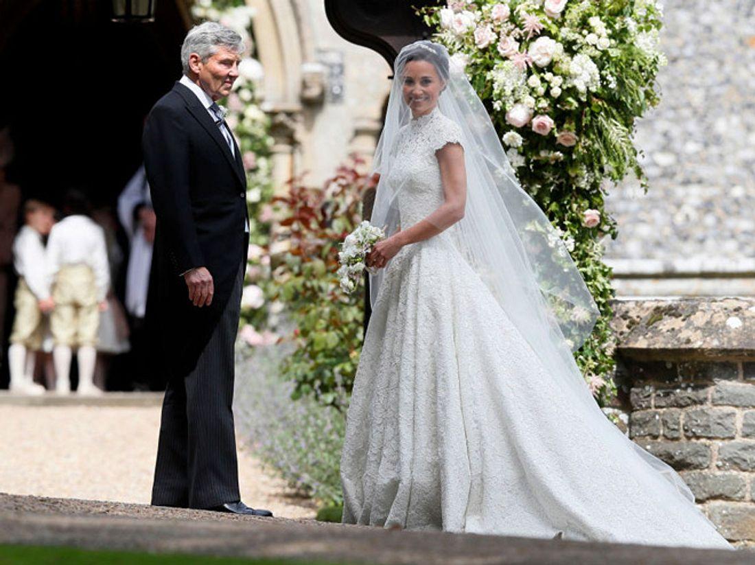 Pippa Middleton: Ihr schönes Hochzeitskleid