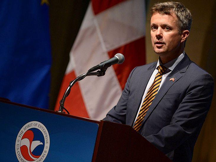 Frederik von Dänemark am 28. September 2016 in Washington D.C.