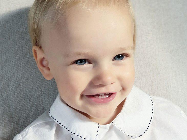 Prinz Gabriel von Schweden wurde zwei Jahre alt.