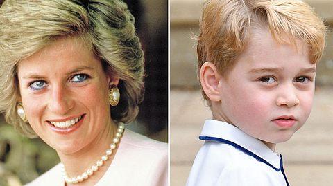 Was George von Oma Diana geerbt hat