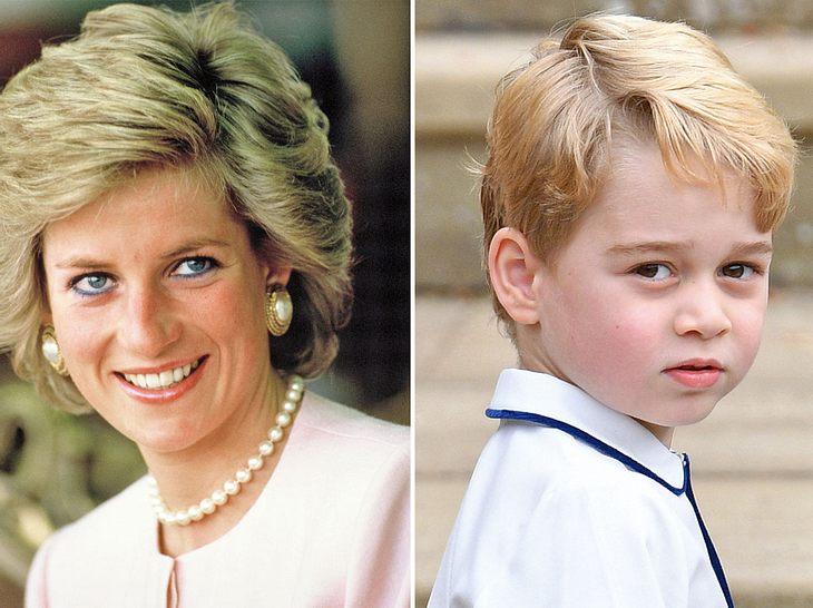 Prinzessin Dianas Enkel Prinz George ist ihr in mindestens einem Punkt offenbar sehr ähnlich.