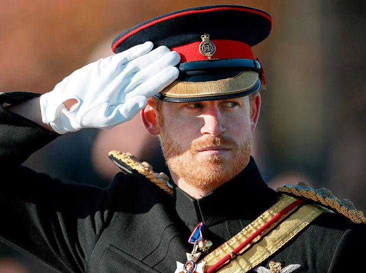 Prinz Harry bei einer Gedenkveranstaltung im November 2016.
