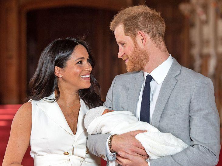 Wird Archie, Sohn von Herzogin Meghan und Prinz Harry, doch noch ein Prinz?