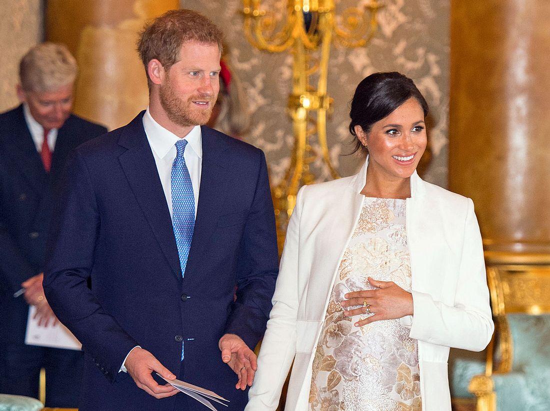 Prinz Harry und Herzogin Meghan werden bald zum ersten Mal Eltern.