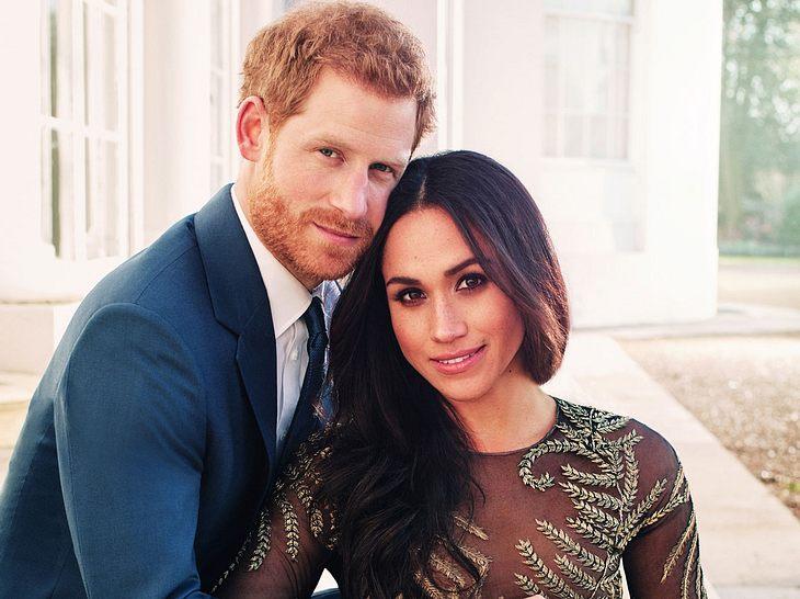 Die Hochzeit von Prinz Harry und Meghan Markle wird im TV übertragen.