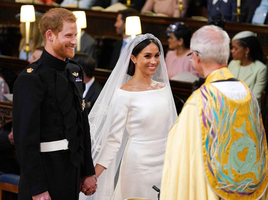 Die Trauung von Prinz Harry und Meghan Markle.