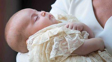 Prinz Louis bei seiner Taufe.  - Foto: DOMINIC LIPINSKI/AFP/Getty Images