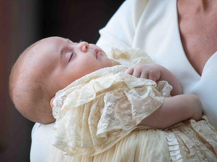 Prinz Louis bei seiner Taufe.