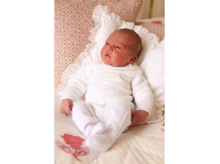 Das erste offizielle Foto von Prinz Louis.