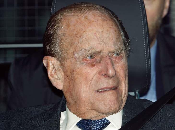 Queen Elizabeth: Prinz Phlip in Autounfall verwickelt