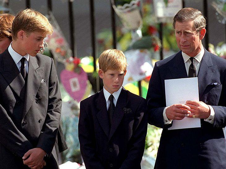 Prinz William: Darum weinte er nicht bei Dianas Beerdigung