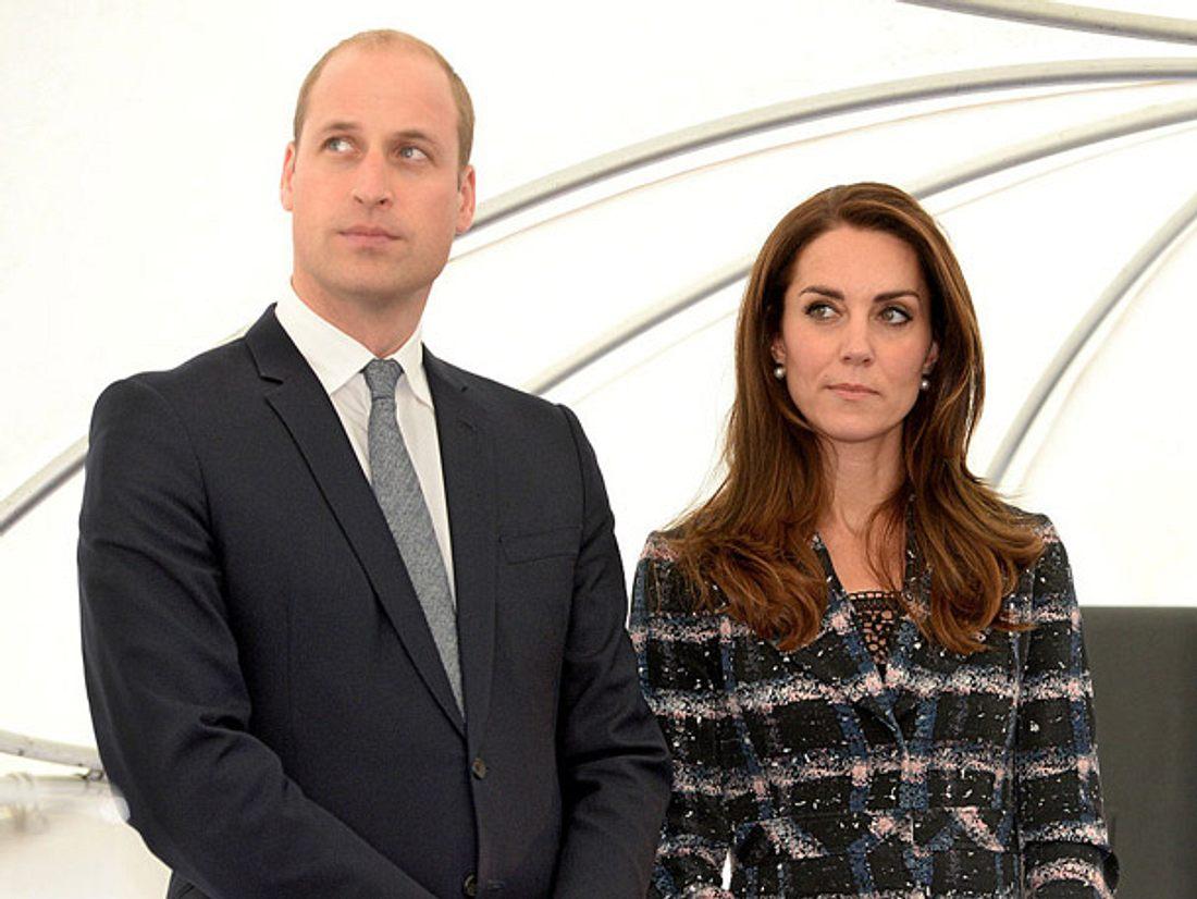 William & Kate: Emotionaler Besuch in Frankreich.