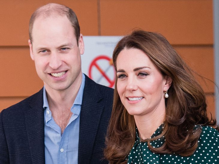 Prinz William & Kate zeigen neues Familienfoto