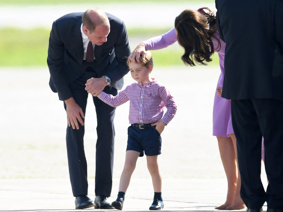 Prinz Georges Einschulung: Ein großer Tag für den kleinen Prinzen