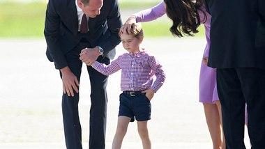 Ein großer Tag für den kleinen Prinzen