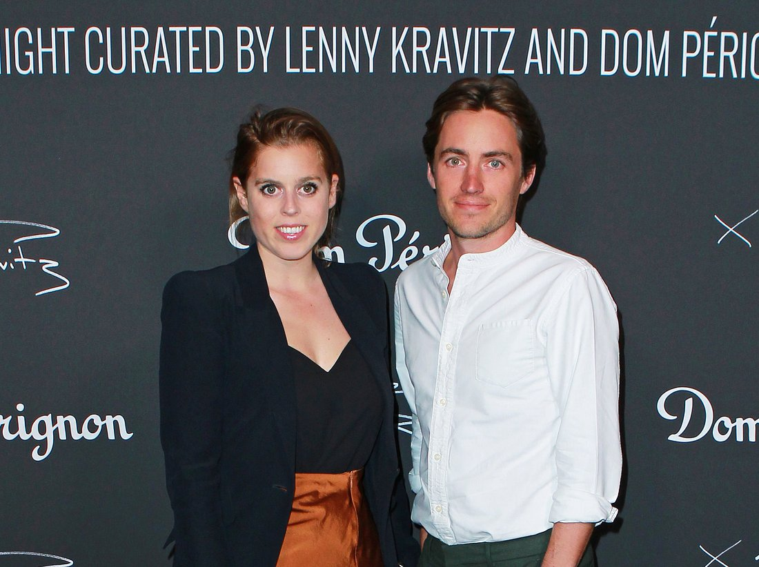 Beatrice und ihr Verlobter Edoardo Mapelli Mozzi.