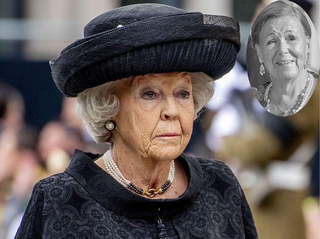 Prinzessin Beatrix trauert um ihre Schwester Prinzessin Christina.