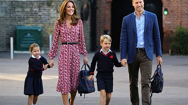 Herzogin Kate und Prinz William begleiten ihre Kindern zur Schule. - Foto: GettyImages/WPA Pool