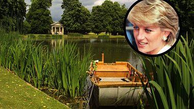 Hier liegt das Grab von Prinzessin Diana - Foto: Sion Touhig/GERRY PENNY/AFP via Getty Images, Collage Liebenswert