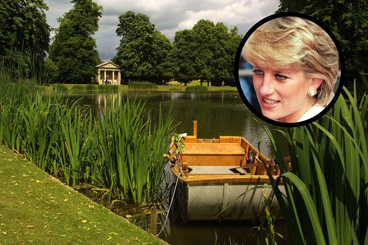 Hier liegt das Grab von Prinzessin Diana