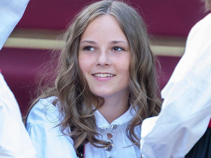 Prinzessin Ingrid Alexandra von Norwegen feiert ihren 15. Geburtstag.