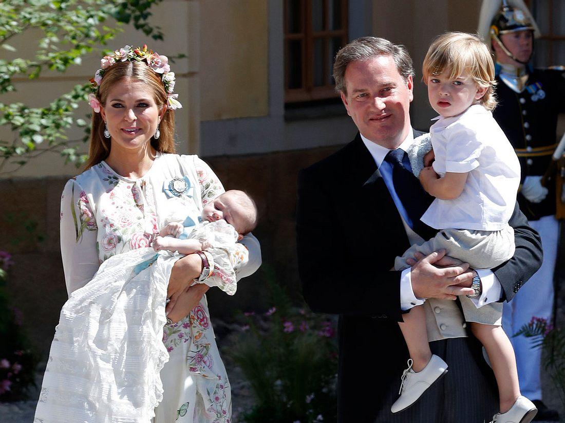 Prinzessin Madeleine ist stolze Mama von drei Kindern.