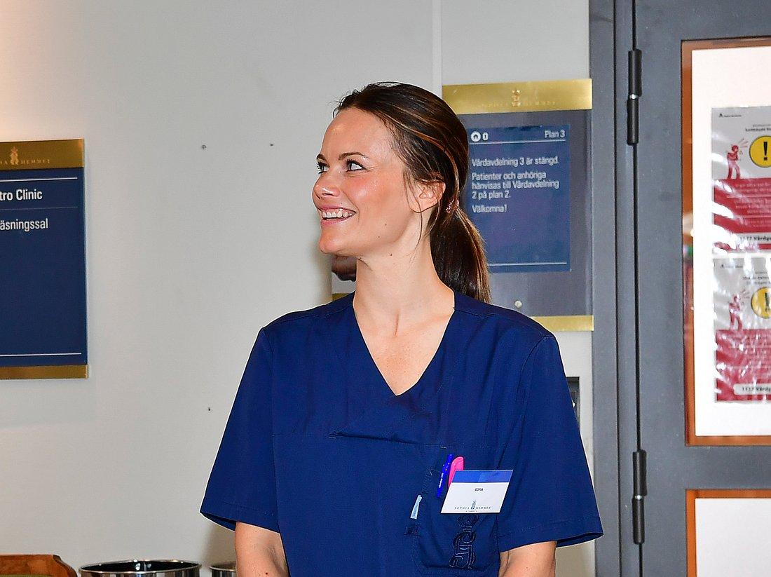 Prinzessin Sofias erster Tag im Stockholmer Krankenhaus.