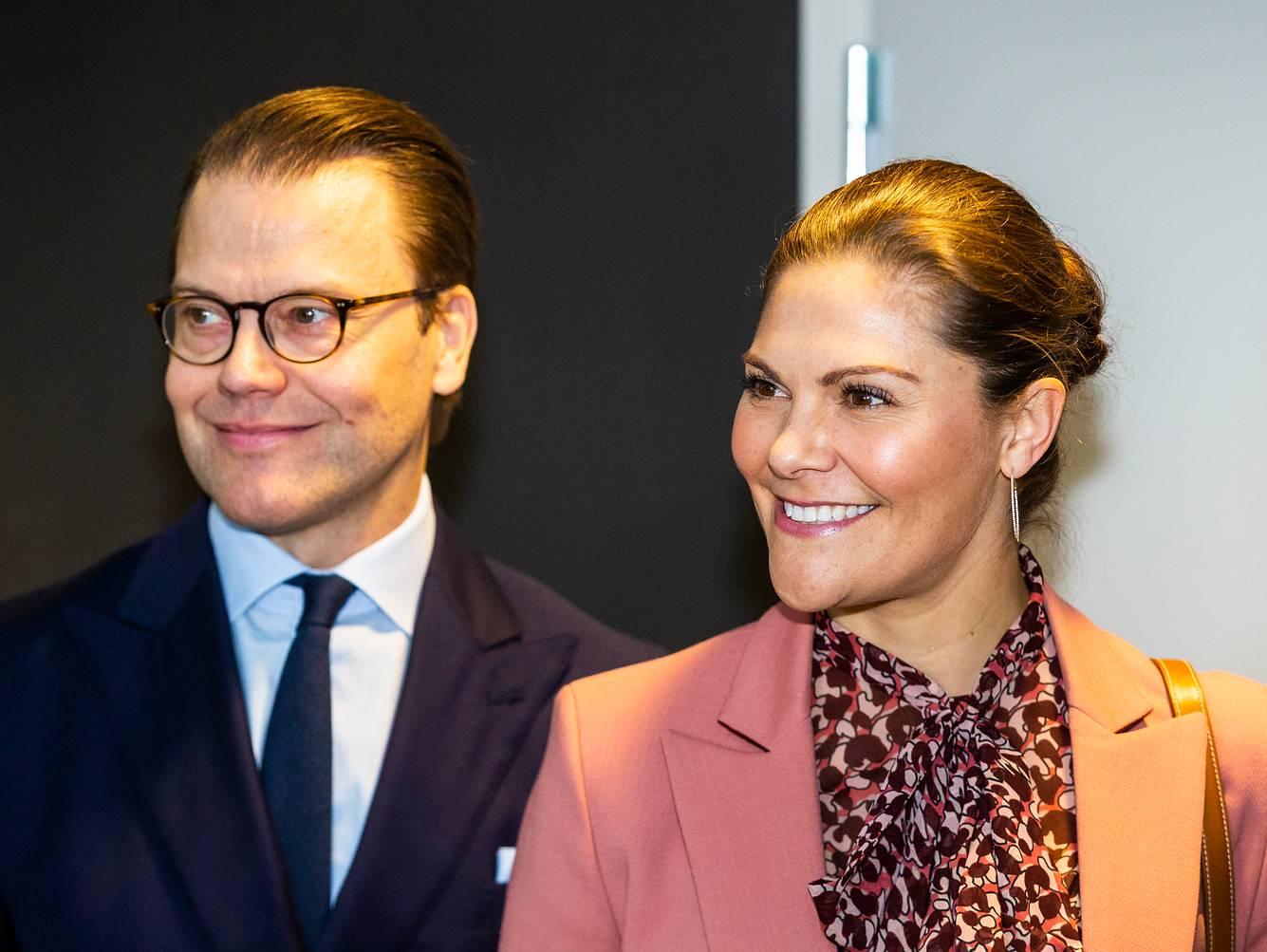 Prinzessin Victoria und ihr Mann Prinz Daniel bei einer Veranstaltung in Stockholm 2020.