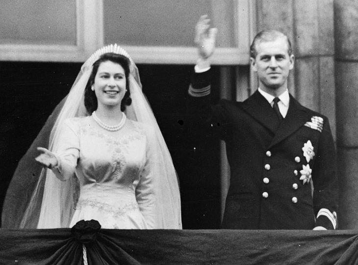 Das Brautkleid von Queen Elizabeth II.
