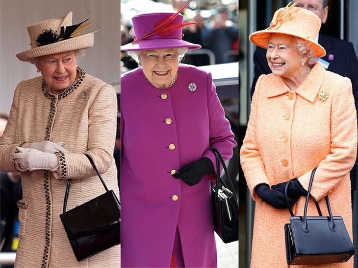 Queen Elizabeth: Das Geheimnis hinter ihren Handtaschen.