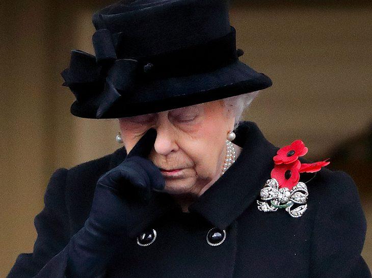 Queen Elizabeth: Sie lässt ihren Gefühlen freien Lauf!