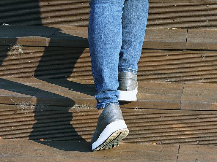 Störend: Wenn die Schuhe quietschen