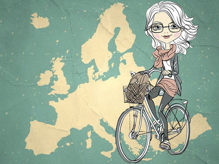 Die Radfernwege Europas: Mit dem Fahrrad die schönsten Ecken entdecken