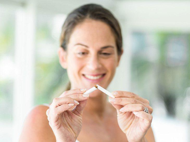 Allergien vom Rauchen. Mögliche Ursachen und Bedeutung.