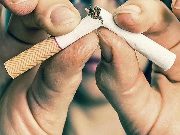 rauchen aufhören ohne zuzunehmen