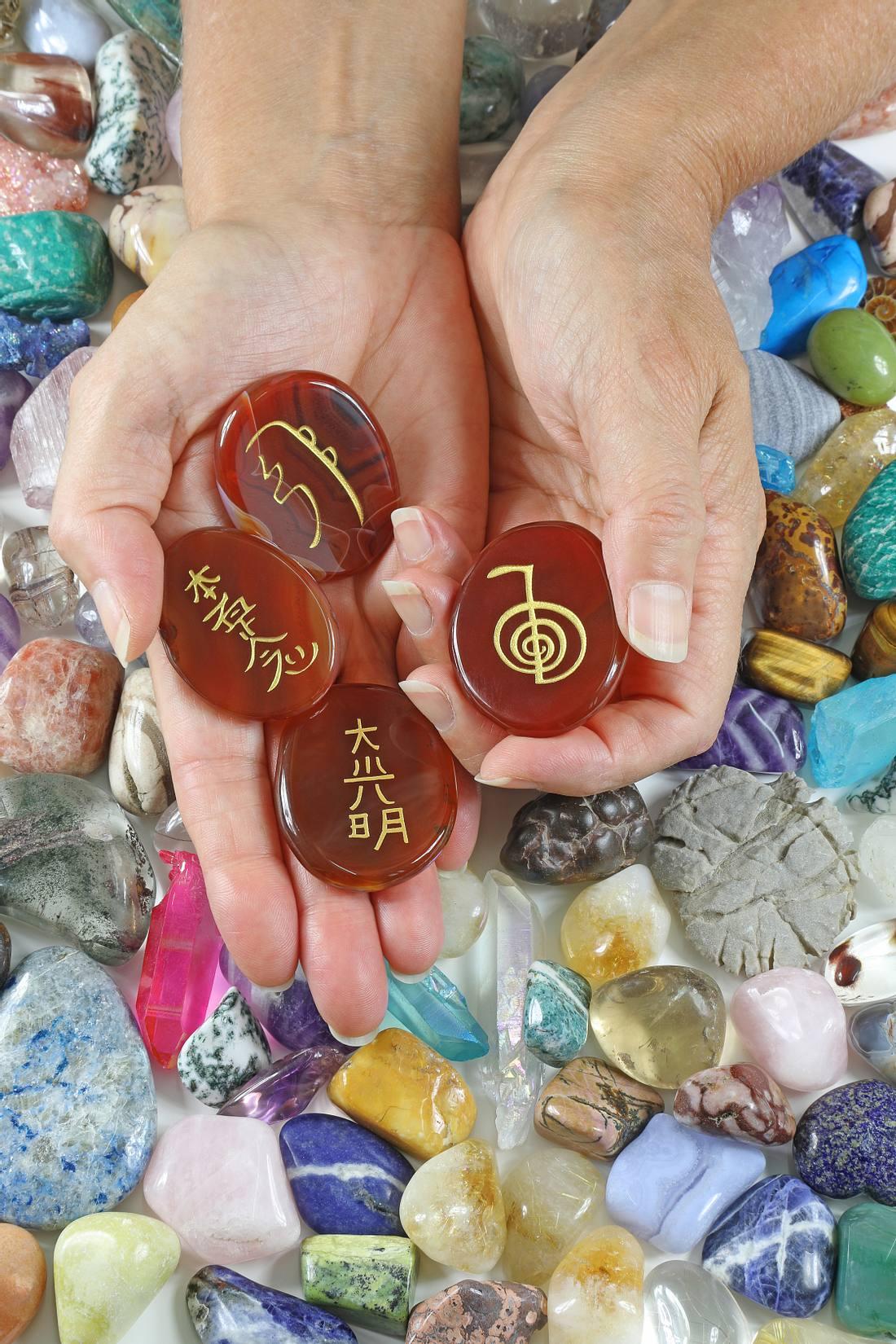 Die vier Reiki-Symbole
