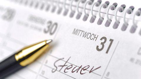 Steuererklärung für die Rente.  - Foto: filmfoto / iStock