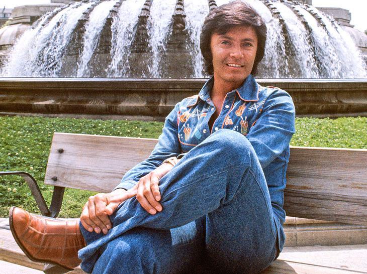 Sänger Rex Gildo starb im Jahr 1999.