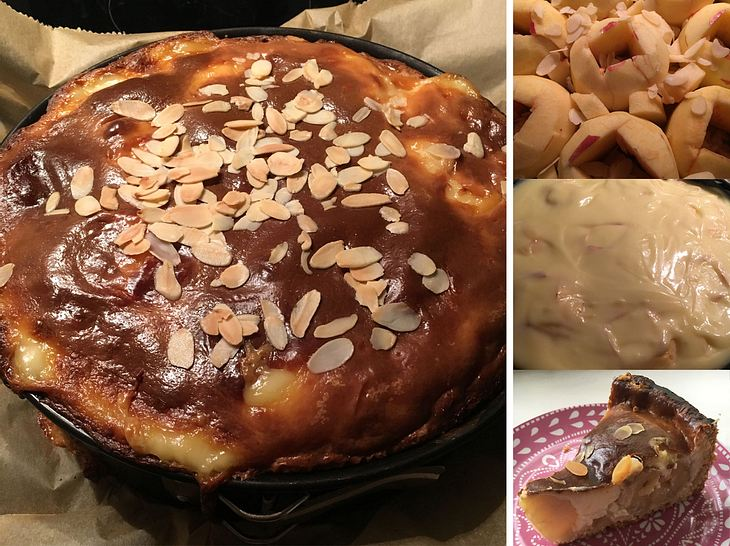 Bratapfelkuchen wie bei Oma: Das Rezept zum Nachbacken