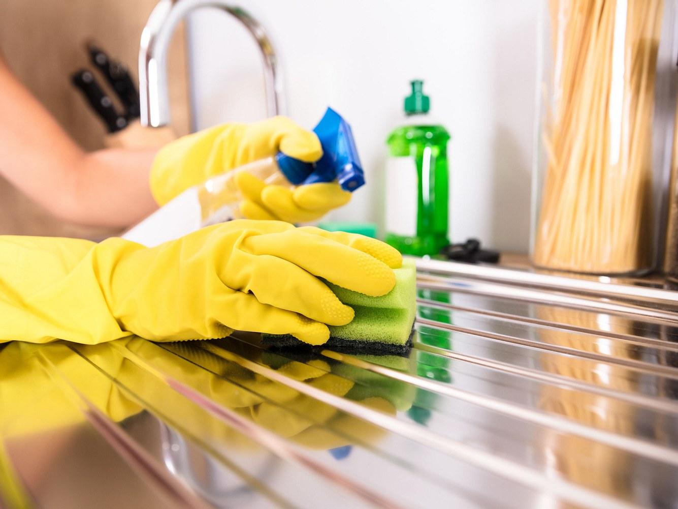 Richtig putzen in der Küche