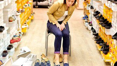Tragen Sie die richtigen Schuhe?